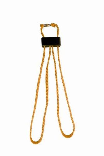 KH-Security Einweghandfessel aus Stoff gelb